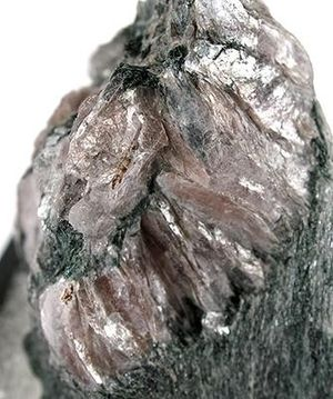 Margarite - Margarite from the Wright Mine, Chester Emery Mines, Chester, Hampden County, Massachusetts, USA. Size: 4.8 x 3.4 x 2.6 cm.