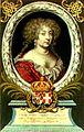 Maria Giovanna Battista di Savoia, la seconda Madama Reale, Incisione di R. Nanteuil da dipinto di L. Dufour, in 'Theatrum Statuum Regiae Celsitudinis Sabaudiae Ducis, Amsterdam 1682.jpg