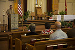 Marines honored during rededication of Miramar chapel 150712-M-HJ625-035.jpg