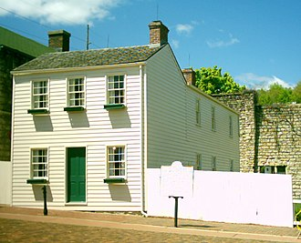 Hannibal, Missouri - Mark Twain's boyhood home is open to the public