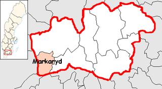 Markaryd Municipality Municipality in Kronoberg County, Sweden