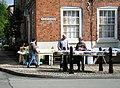 Market stalls on Broad street - geograph.org.uk - 1314217.jpg