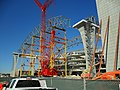 Marlins Ballpark construction February 2011.jpg