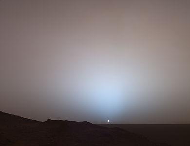mars sunset rover - photo #13
