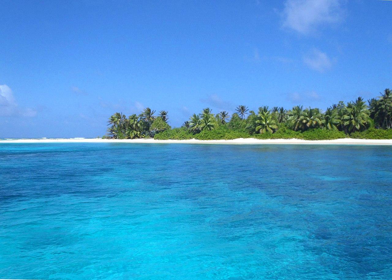 Pemandangan Kepulauan Marshall