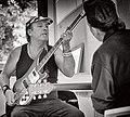 Martin Glover AKA Youth jamming with Geordie Walker - by Mont Sherar.jpg