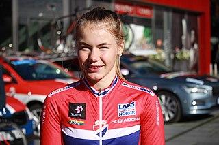 Martine Gjøs Norwegian cyclist