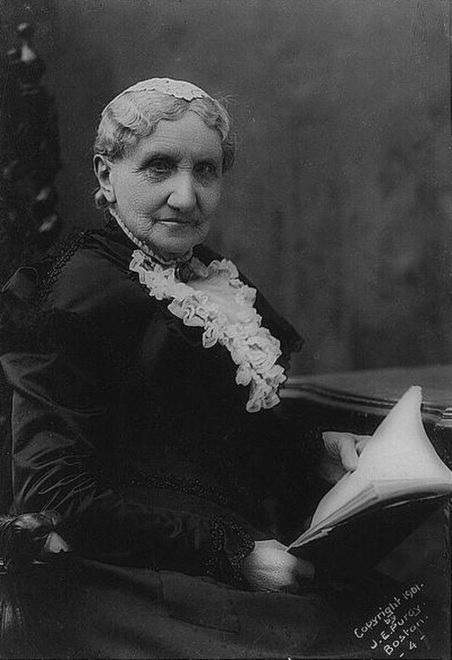 Portrait of Mary Livermore