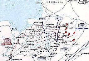 Prvni Bitva U Mazurskych Jezer Wikipedie