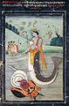 Matsya rescues the Vedas (6124594929).jpg
