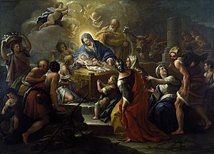 Paolo de Matteis - The Adoration of the Shepherds, Dallas Museum of Art.