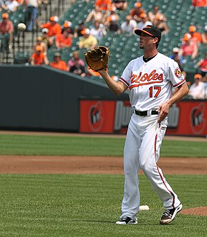 Brian Matusz - Matusz with the Baltimore Orioles