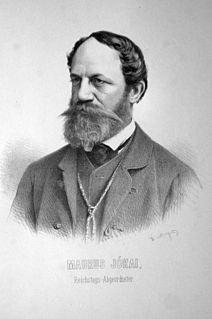 Mór Jókai Hungarian writer