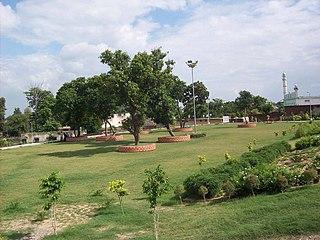 Naraingarh City in Haryana, India
