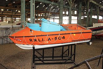 McLachlan-class lifeboat - Image: Mc Lachlan A 504 at Chatham