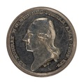 Medalj med läkaren Adolf Murray i profil, 1838 - Skoklosters slott - 99393.tif