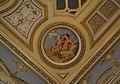 Medalló amb Venus i amoret, saló de ball del palau del marqués de Dosaigües.JPG