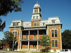 Medina, Ohio - The historic courthouse in downtown Medina