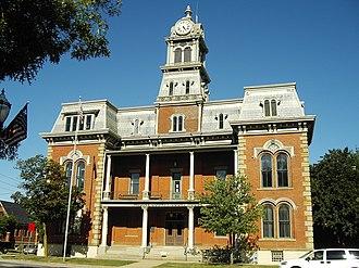 Medina, Ohio - The historic courthouse in downtown Medina