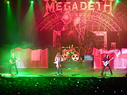 "Megadeth live bei der ""Rust in Peace 20th Anniversary Tour"" in Chile 2010"