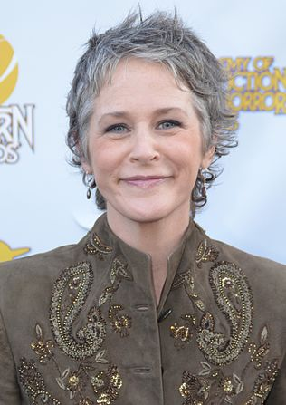 McBride at the Saturn Awards in 2014 Melissa McBride 40th Saturn Awards (cropped).jpg