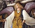 Melozzo da forlì, angeli coi simboli della passione e profeti, 1477 ca., calice 02.jpg