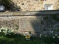 Memorial stone in the wall of St Mary's churchyard - geograph.org.uk - 385252.jpg