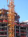Men working on the tower crane.JPG