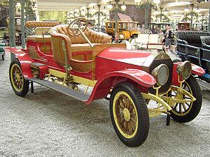 Phaeton body - Image: Mercedes Double Phaeton