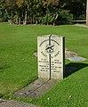 Meridian marker, East Kirkby airfield museum - geograph.org.uk - 1059647.jpg