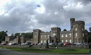 Cyfarthfa Castle - Front view of Cyfarthfa Castle