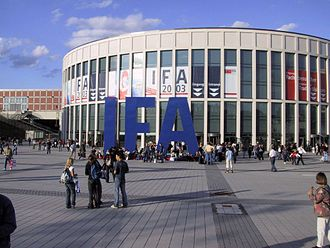 Messe Berlin - Southern gate during IFA 2003