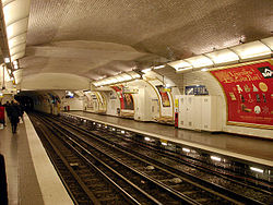 Image illustrative de l'article Anatole France (métro de Paris)