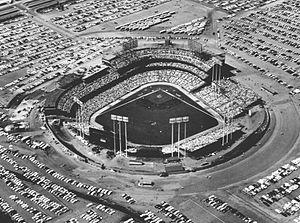 Metropolitan Stadium - Metropolitan Stadium in 1962