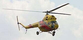 Mil Mi-2 - Mi-2 Plus air ambulance in Poland