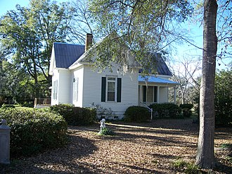 National Register of Historic Places listings in Leon County, Florida - Image: Miccosukee FL Averitt Winchester House 02
