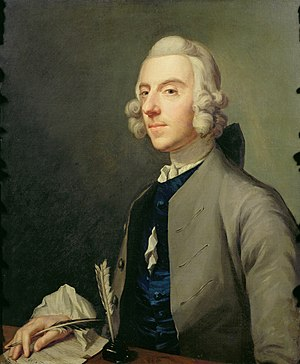 Michael Arne - Portrait of Arne by Johan Zoffany