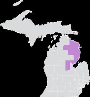 Michigans 36th Senate district American legislative district