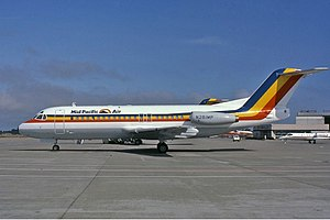 Mid Pacific Air - Mid Pacific Air Fokker F28-4000