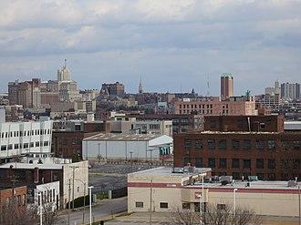 Midtown St. Louis - View of Midtown, December 2012