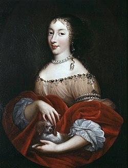 Henrietta anne, duchess of orleans by pierre mignard