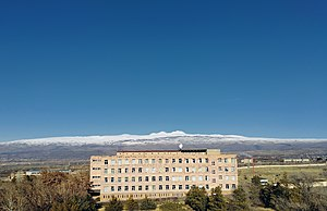 Mikael Ter-Mikaelian Institute for Physical Research, Aragats Mountain.jpg