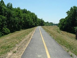 Bike path - Image: Millcreektrail 1