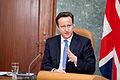 Ministru prezidenta Valda Dombrovska tikšanās ar Apvienotās Karalistes Ministru prezidentu Deividu Kameronu (8515580414).jpg