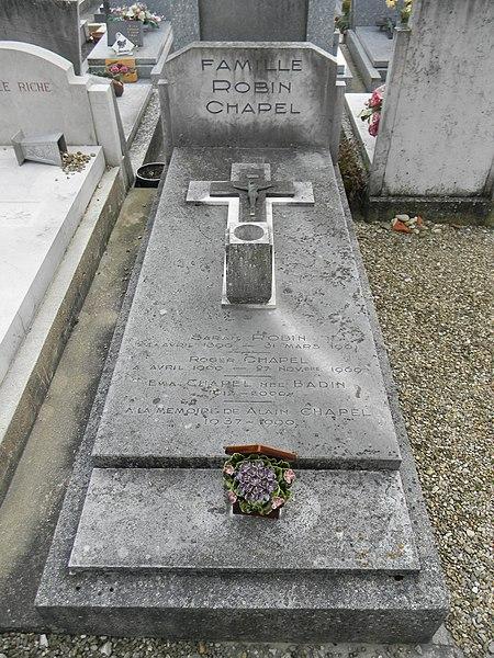 Famille Robin-Chapel - À la mémoire de Alain Chapel 1937-1990.