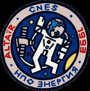 Jean-Pierre Haigneré - Image: Mir Altair mission patch