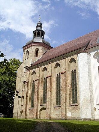 Mirow - Image: Mirow Kirche 1
