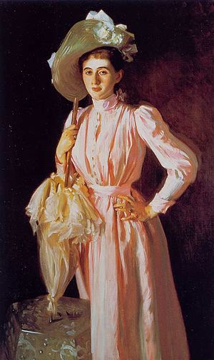 Leverett Saltonstall - Miss Eleanor Brooks (Mrs. Richard Middlecott Saltonstall), John Singer Sargent, 1890