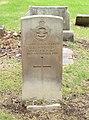 Mitchell (Edward George) CWGC gravestone, Flaybrick Memorial Gardens.jpg