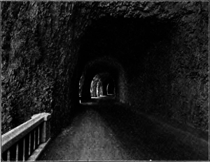 Mitchell Point Tunnel - Entrance to the tunnel